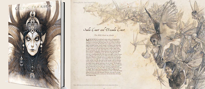 Celtic Fairies and Jean Baptiste Monge